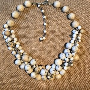 Neutral Cluster Necklace